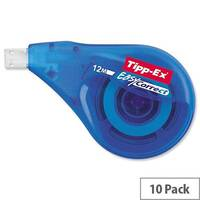 Tipp-Ex Easy-correct Correction Tape Roller 4.2mmx12m Pack 10 Ref 8290352