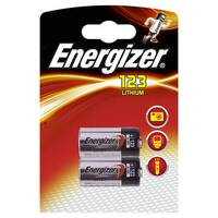 Energizer 123 Lithium Batteries for Cameras Pack 2