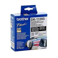 Brother P-touch DK-11203 17mm x 87mm File Folder Labels 300 Labels