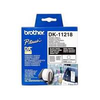 Brother P-touch DK-11218 24mm x 24mm Round Labels 1000 Labels