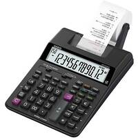 Casio HR-150RCE Printing Desktop Calculator Euro Conversion Tax Calculation Battery Power 12 Digit LC Display Black
