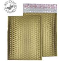 Purely Packaging Bubble Envelope P& C4 Metallic Gold Ref MTGOL324 [Pk 100]