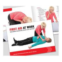 Click Medical First Aid At Work Book Ref CM1317