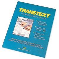 Transtext Film A4 210mmx297mm Pk 25 UG6904