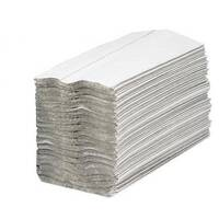 Maxima Hand Towels C-Fold 2-Ply White FSC Recycled 160 Sheets Per Sleeve - 15 Sleeves