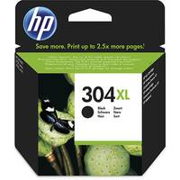 HP 304XL Yield: 300 Pages Black Ink Cartridge Ref N9K08AE
