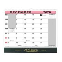 At-A-Glance 2020 Flip-over Wall Calendar Month to View 330x276mm Assorted Ref 90M 2020
