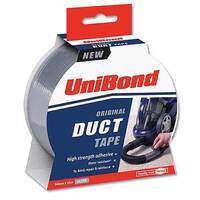 Duct Tape Multisurface Silver 50mm x 25m Unibond