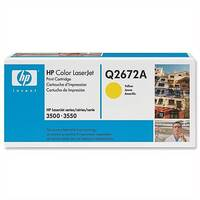 HP 309A Yellow LaserJet Toner Cartridge Q2672A