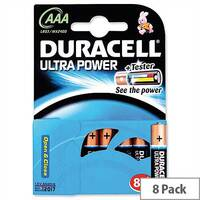 Duracell Ultra Power AAA Alkaline 1.5V Batteries (8 Pack) 15071690