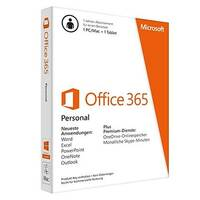 Microsoft Office 365 Personal - Subscription licence (1 year) - 1 phone, 1 tablet, 1 PC/Mac - non-commercial - Download - ESD - 32/64-bit, Click-to-Run - Win, Mac, Android, iOS - All Languages - Eurozone