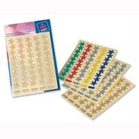 Avery Packet of Star Labels Small Assorted 90 Labels