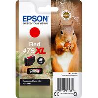 Epson 478XL - 10.2 ml - high capacity - red - original - ink cartridge - for Expression Photo XP-8500 Small-in-One