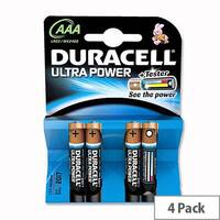 Duracell Ultra Power AAA Alkaline 1.5V Batteries (4 Pack) 75051959