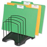Arnos Eco Tidy Step File Organiser Six Section