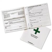 Guildhall Accident Report Book 20 Pages 210x200mm Green and White (Pack 5)