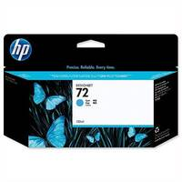 HP 72 Cyan Inkjet Cartridge 130 ml C9371A