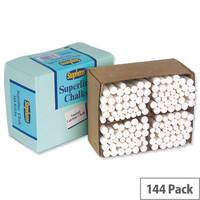 Stephens White Chalk Pack 144