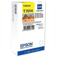 Epson T7014 Inkjet Cartridge Extra High Capacity Page Life 3400pp Yellow Ref C13T70144010