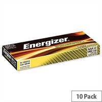 Energizer Industria AAA Battery 1.5V Long Life LR03 (Pack 10) 636106