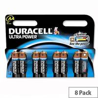 Duracell Ultra Power AA Alkaline 1.5V  Batteries (8 Pack) 75051925