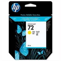 HP 72 Yellow Inkjet Cartridge 69ml C9400A