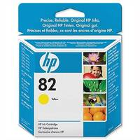 HP 82 Yellow Ink Cartridge 28ml CH568A