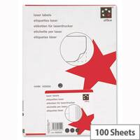 5 Star Address Labels 139 x 99.1mm White (400 Labels)