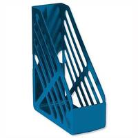 Foolscap Magazine Rack File Blue 5 Star