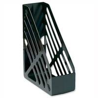 Foolscap Magazine Rack File Black 5 Star