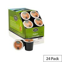 Green Mountain Coffee Hazelnut Pack 24 K-Cup pods for Keurig