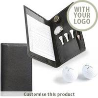 Deluxe Golf Score Card 166838 - Customise with your brand, logo or promo text