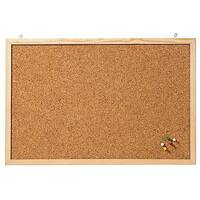 Franken Cork Board Wooden Frame 600 x 400mm CC-KT4060E
