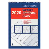 Collins Colplan Weekly Notebook Diary 2020 60
