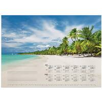 CALENDAR REFILL TROPICAL BEACH 570 x 410 7321