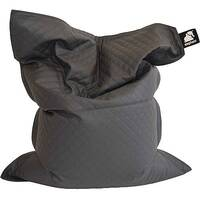 Elephant Jumbo Bean Bag 1750x1350mm Smoke Grey Quilted