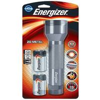 Energizer 2D LED Metal Torch (Pack of 1) 639807