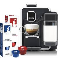 Caffitaly S22 Black &White Bundle Deal Starter Pack Coffee Machine - Includes a Starter pack of 20 Coffee Pods. Ideal For Office, Canteen, Domestic Use &More.