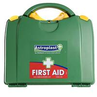 Astroplast Green Box HSA 1-10 Person First Aid Kit Incl. Eyewash &Burns F/H