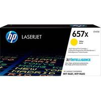 HP 657X High Yield Yellow Original LaserJet Toner Cartridge CF472X