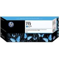 Hewlett Packard No772 Design Jet Inkjet Cartridge 300ml Cyan CN636A