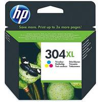 HP 304XL Ink Cartridge Tricolour N9K07AE#BGX