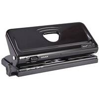Rapesco Black 6-Hole Diary Punch