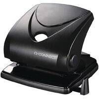 Standard Duty Hole Punch Black Q-Connect