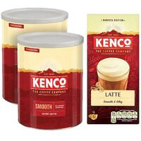 Kenco Smooth Instant Coffee 750g Buy 2 FOC Latte Sachets KS818956