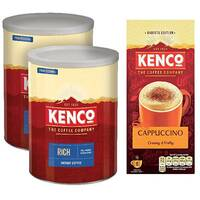 Kenco Rich Instant Coffee 750g Buy 2 FOC Cap Sachets KS818957