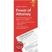 Law Pack Power of Attorney Pack Pack of 5 F334
