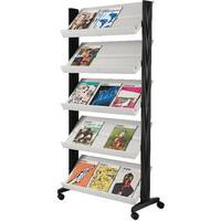 Fast Paper Mobile Literature Display Grey 255N.02