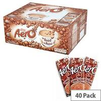 Nestle Aero Hot Drinking Chocolate Powder Sachets 24g Pack 40 12203209