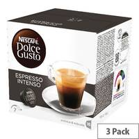 Nescafe Dolce Gusto Espresso Intenso Capsules Pack of 48 12048955